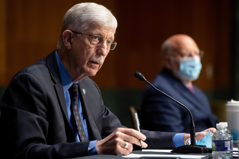 Collins testifies during a US Senate hearing July 2, 2020 in Washington, DC. (Photo: Saul Loeb-Pool/Getty Images)