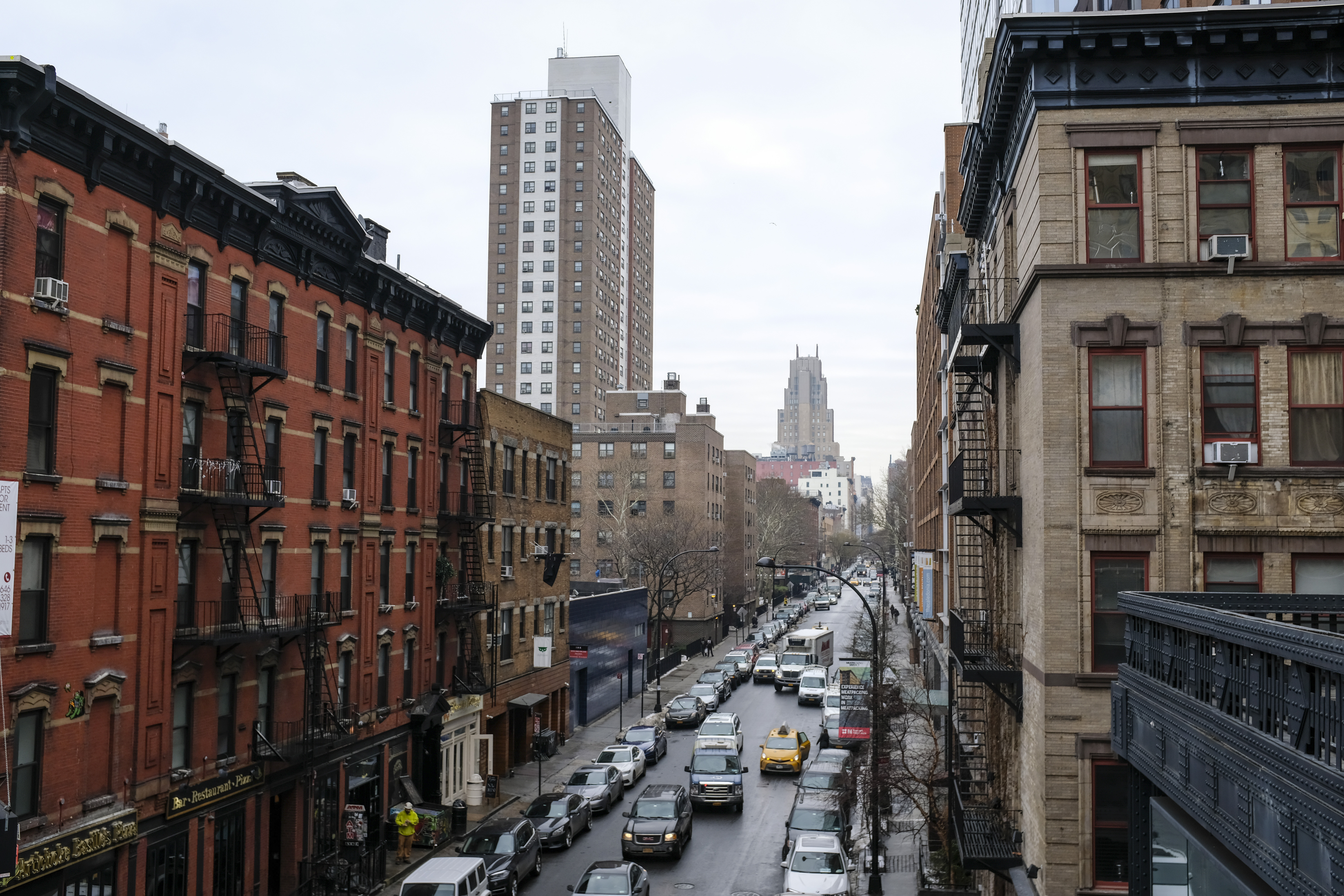 A view of apartments in the Chelsea neighborhood in Manhattan, January 11, 2018 in New York City. (Photo by Drew Angerer/Getty Images)
