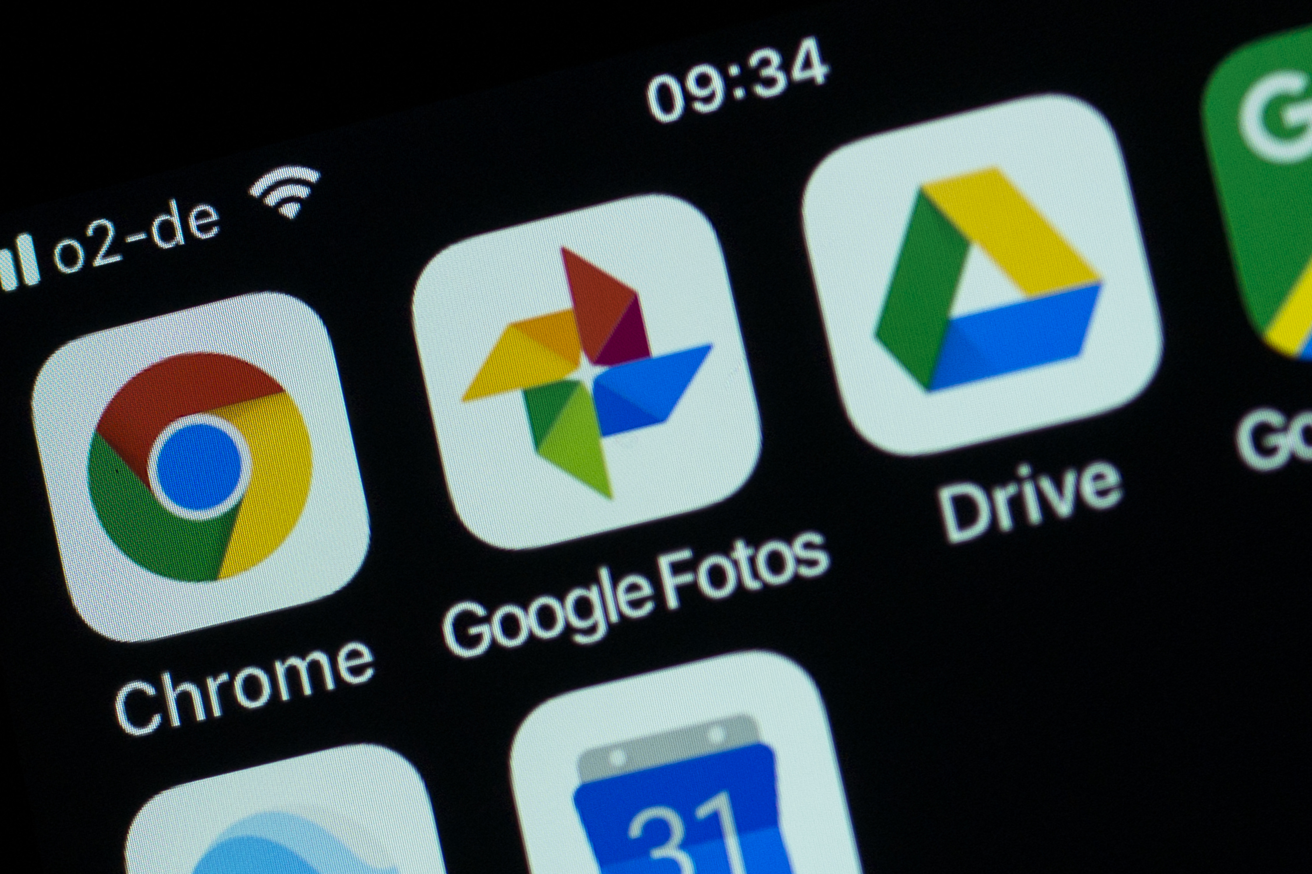 BERLIN, GERMANY - MARCH 03: In this photo illustration several apps of Google are displayed on a smartphone on March 3, 2018 in Berlin, Germany. The left-wing organizers of the event cited Google's profit-oriented mass collection of personal data about people as well as the gentrification locals fear will accelerate should the Google Campus open. Google is reportedly planning to open a Google Campus, which is meant to create a venue for startups and technological exchange, this summer in a building that once housed an electric relay station in the heart of Kreuzberg. (Photo by Carsten Koall/Getty Images)