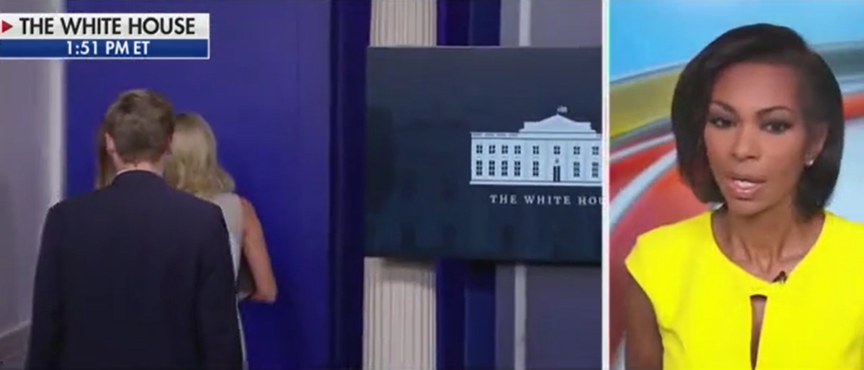'Well That Was Quite The Mic Drop': Harris Faulkner Reacts After Kayleigh McEnany Scolds Reporters
