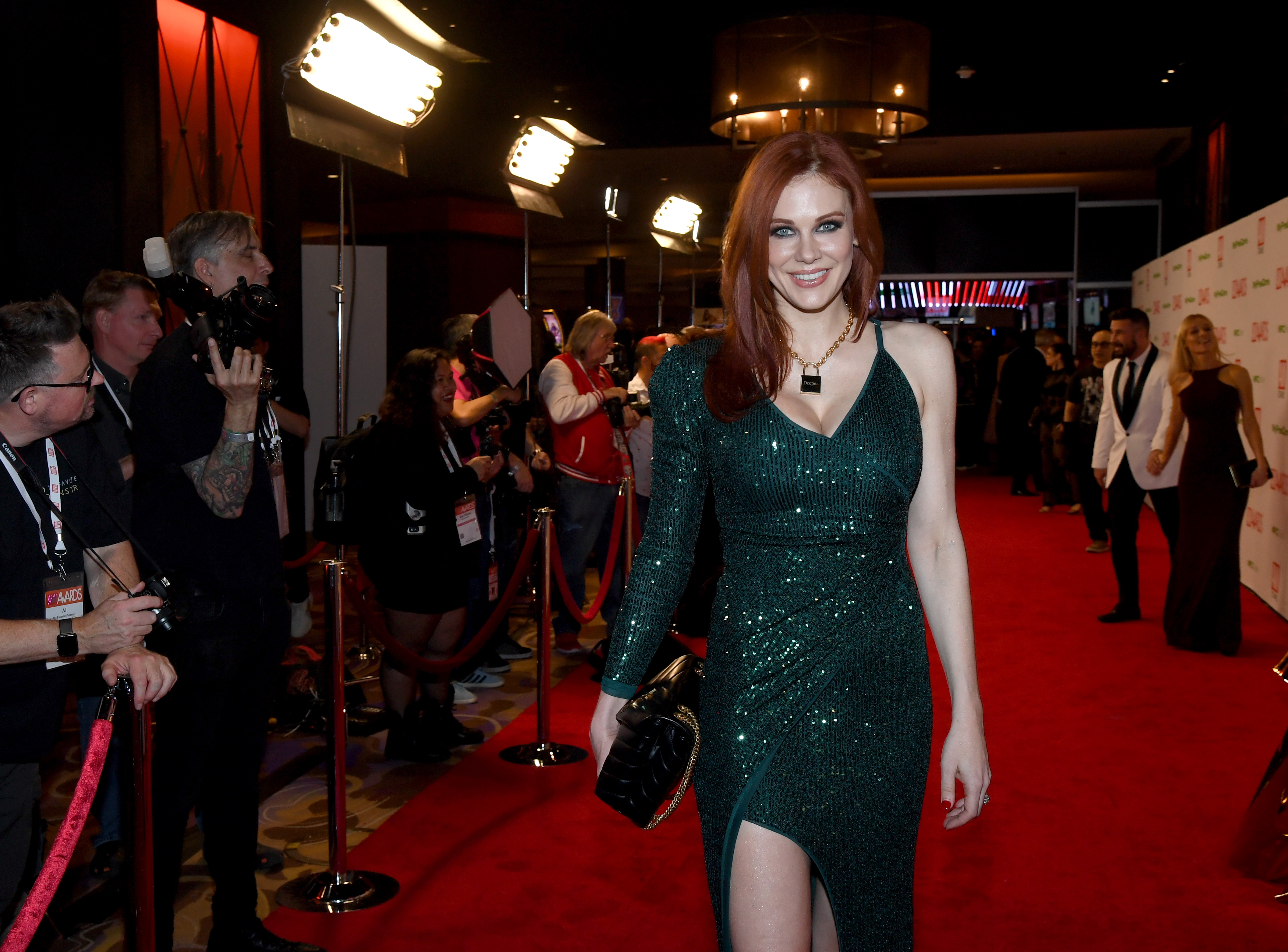 Actress Maitland Ward attends the 2020 Adult Video News Awards at The Joint inside the Hard Rock Hotel & Casino on January 25, 2020 in Las Vegas, Nevada. on January 25, 2020 in Las Vegas, Nevada. (Photo by Ethan Miller/Getty Images)