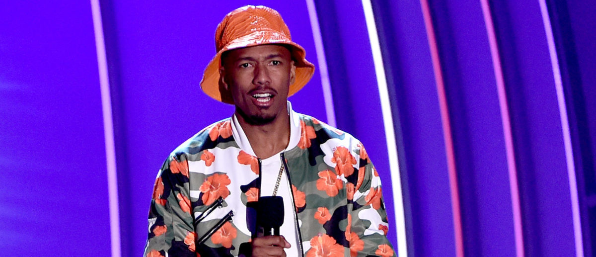 TV personality Nick Cannon speaks onstage at the Nickelodeon Kids' Choice Sports Awards 2015 at UCLA's Pauley Pavilion on July 16, 2015 in Westwood, California. (Photo by Kevin Winter/Getty Images)