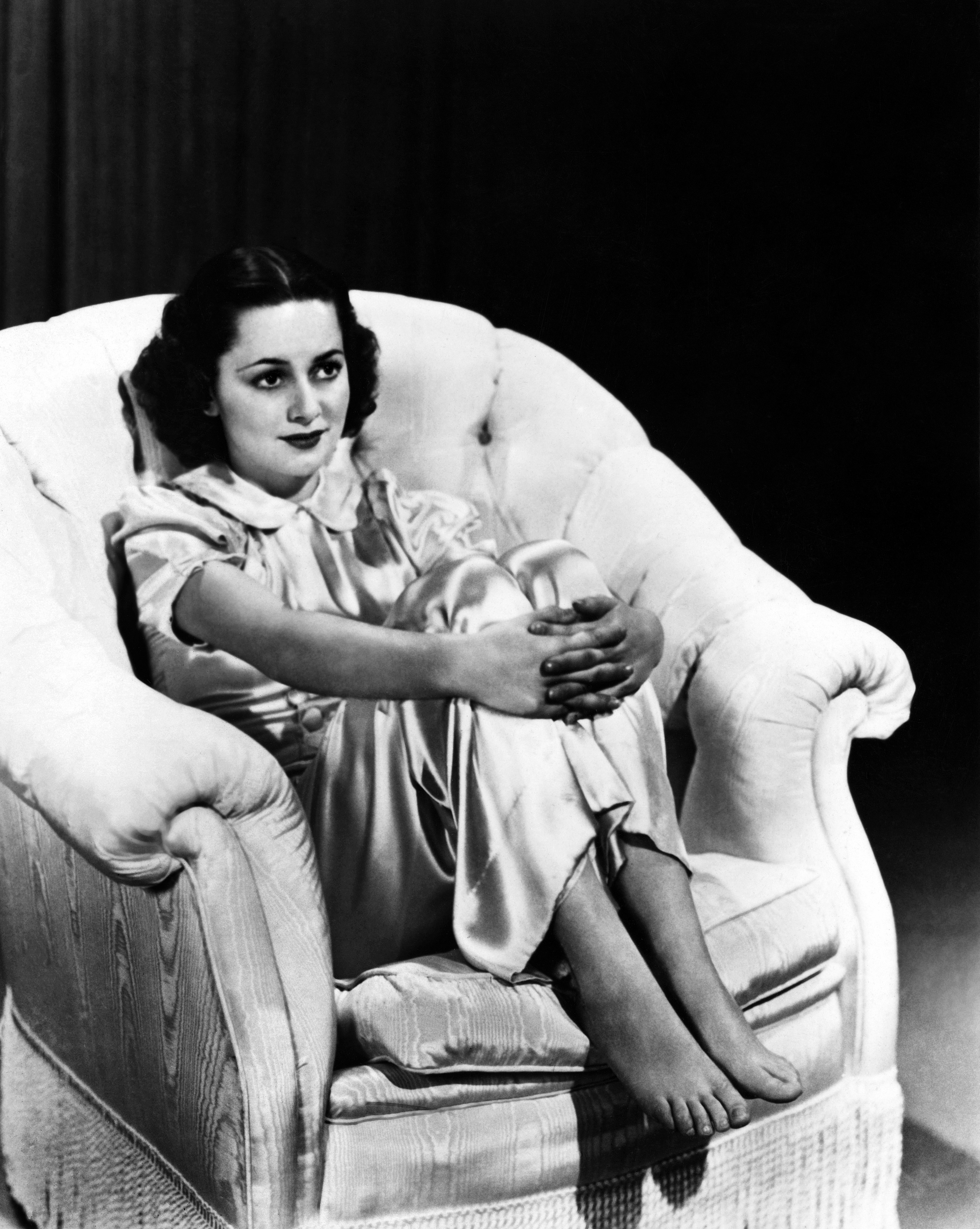 Picture taken on 1938 showing US actress Olivia de Havilland. (Photo by -/AFP via Getty Images)
