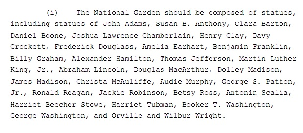Americans who will be featured in a new national monument. (Screenshot/White House)