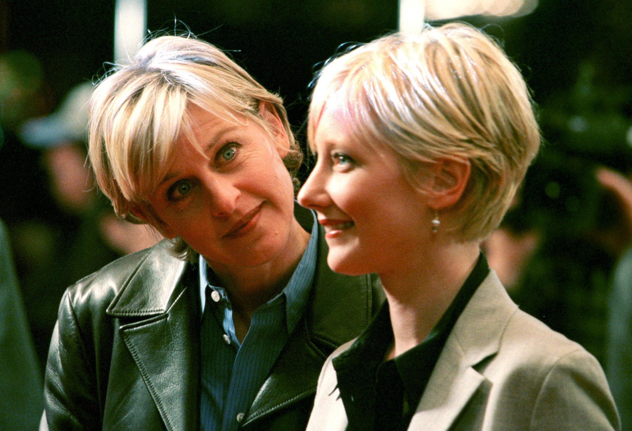 Ellen DeGeneres Ex-Girlfriend Anne Heche Opens up About