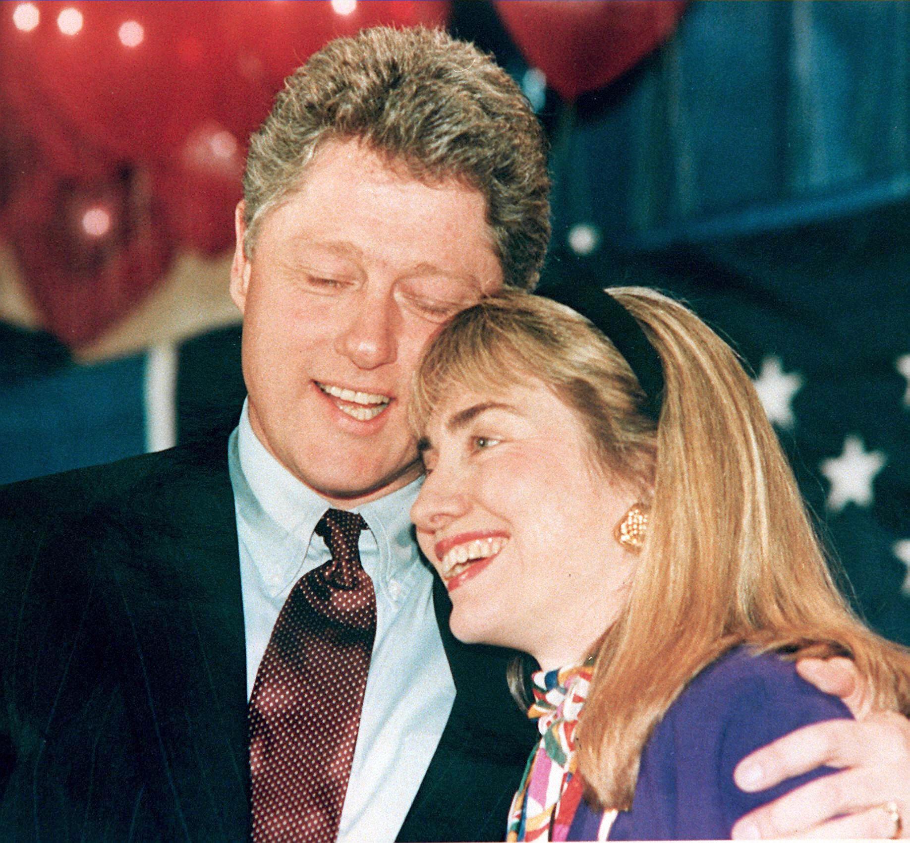 Clinton and Hillary