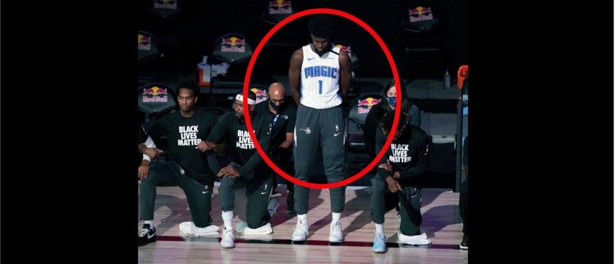 Orlando Magic Player Jonathan Isaac Stands Alone During The National Anthem, Cites His Christian Faith