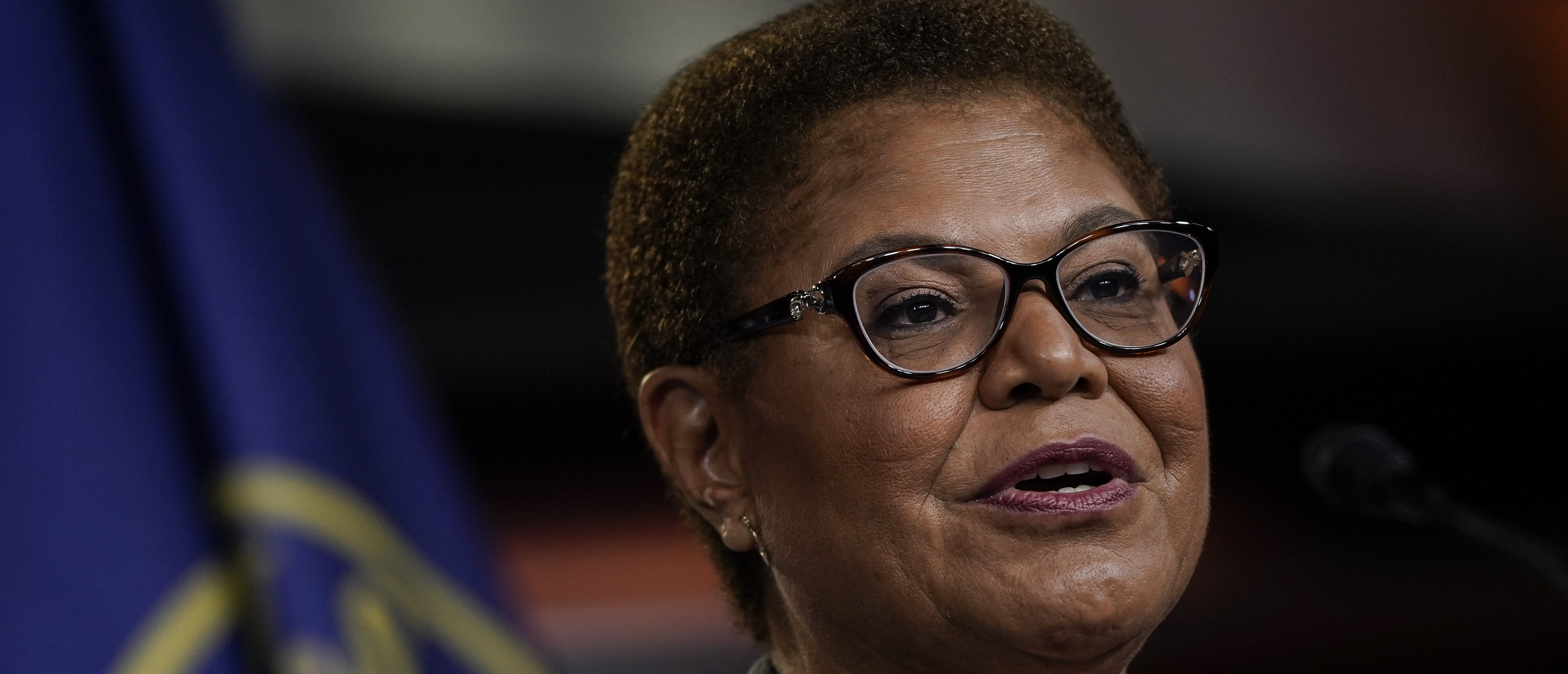 EXCLUSIVE: Karen Bass Pictured At Nation Of Islam Events, Wouldn't Disavow Radical Group