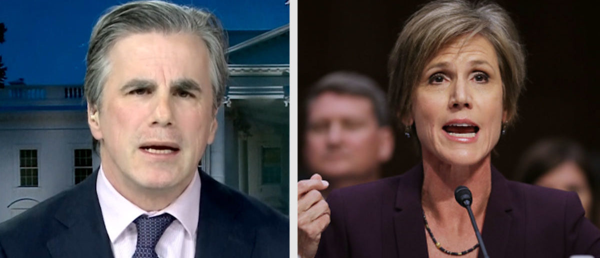 EXCLUSIVE: Judicial Watch's Tom Fitton On What Americans Need To Remember About The Yates Testimony