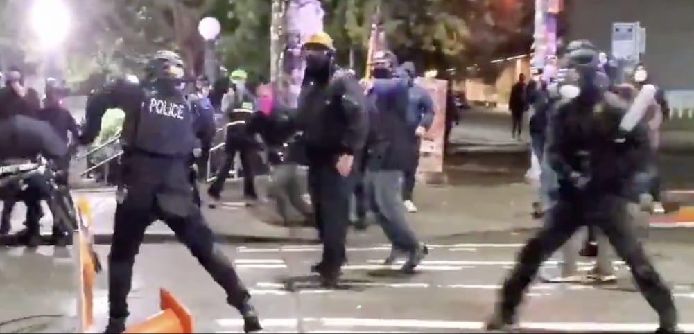 Man about to strike SPD officer with bat/SPD Blotter