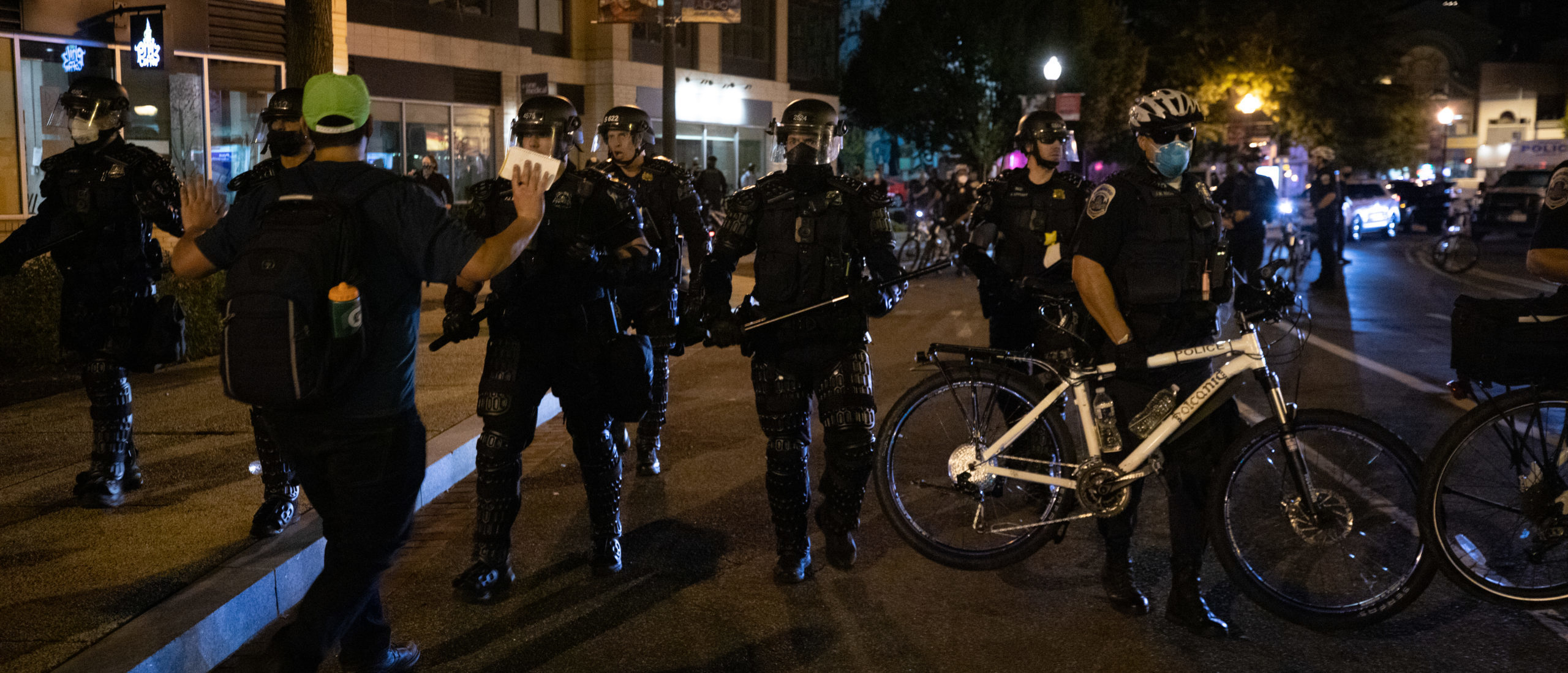 DC Breonna Taylor Protests Remained Largely Peaceful