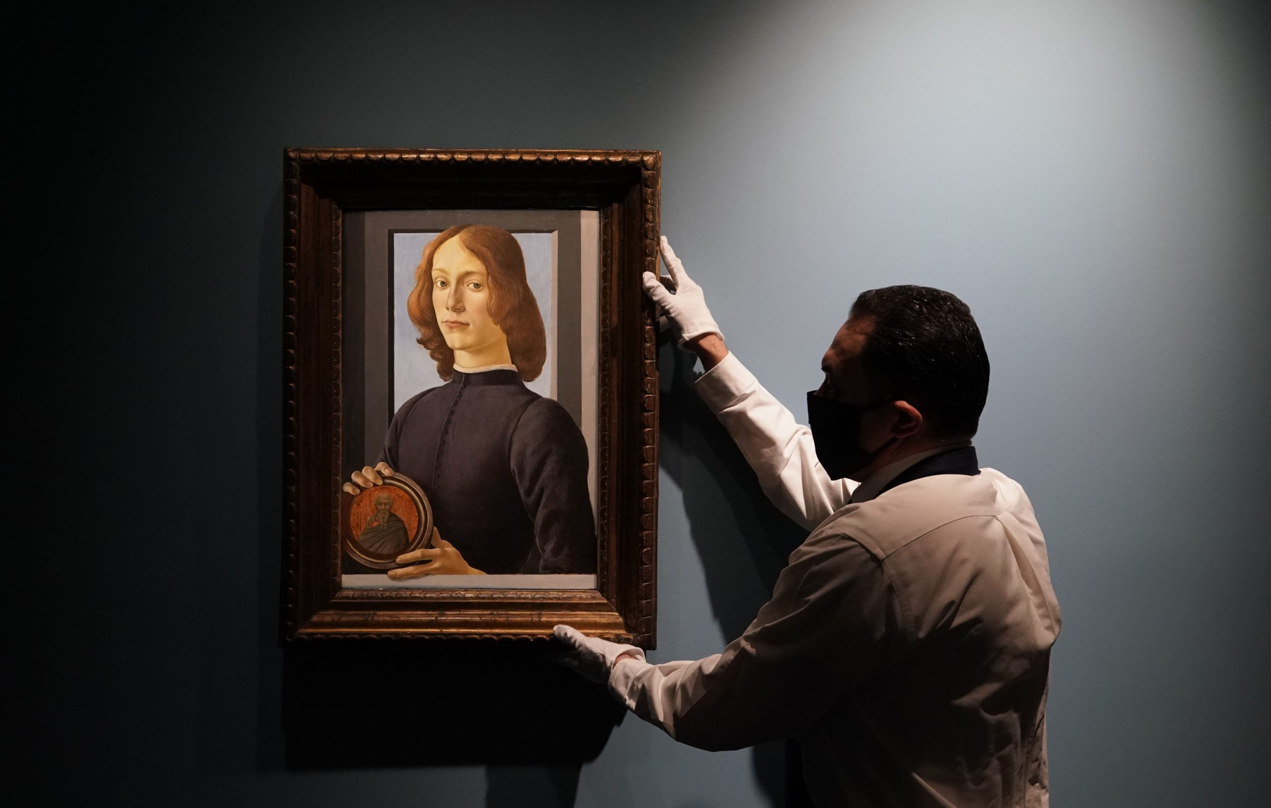 Da Vincis Painting of Jesus Mysteriously Vanishes in the