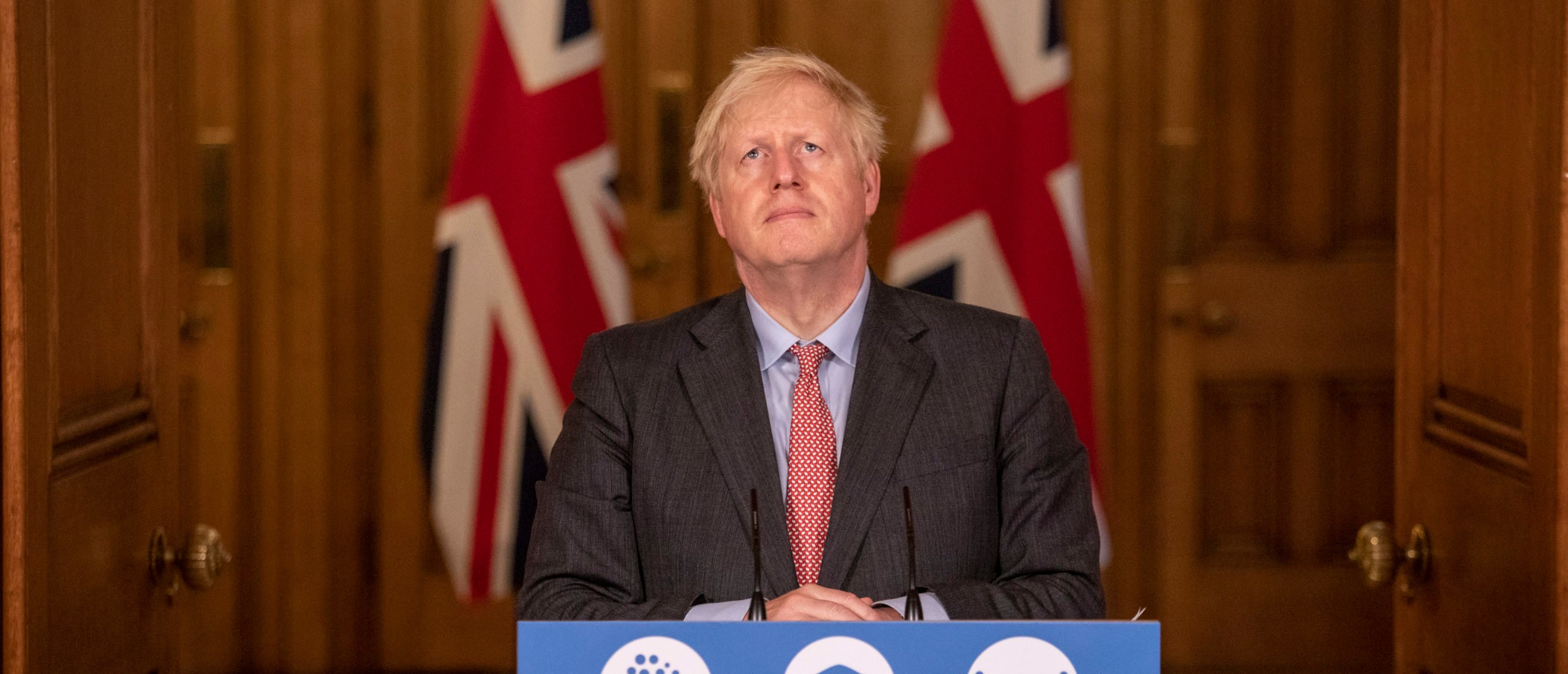 UK Prime Minister Boris Johnson addresses the nation during a remote press conference at Downing Street on September 30, 2020 in London, England. (Photo by Jack Hill - WPA Pool/Getty Images)