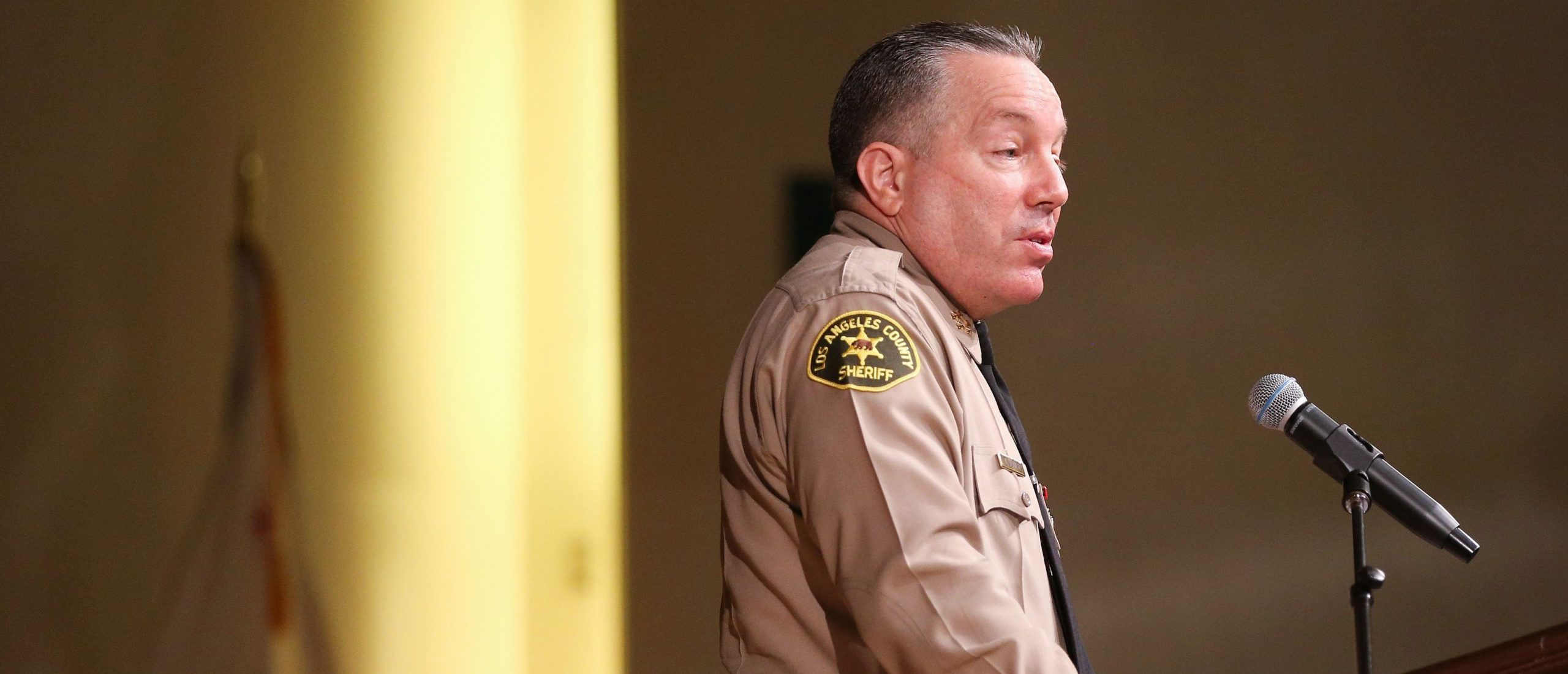 Los Angeles Sheriff Says Anti-Police Protesters Are 'Almost Worthy Of ISIS'
