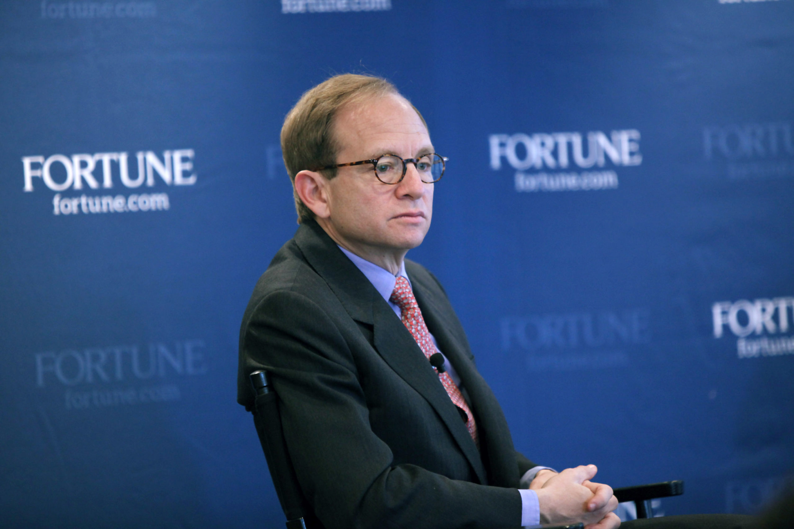 """Obama administration """"auto czar"""" Steven Rattner speaks on November 18, 2009 in New York City. (Neilson Barnard/Getty Images for Fortune Magazine)"""