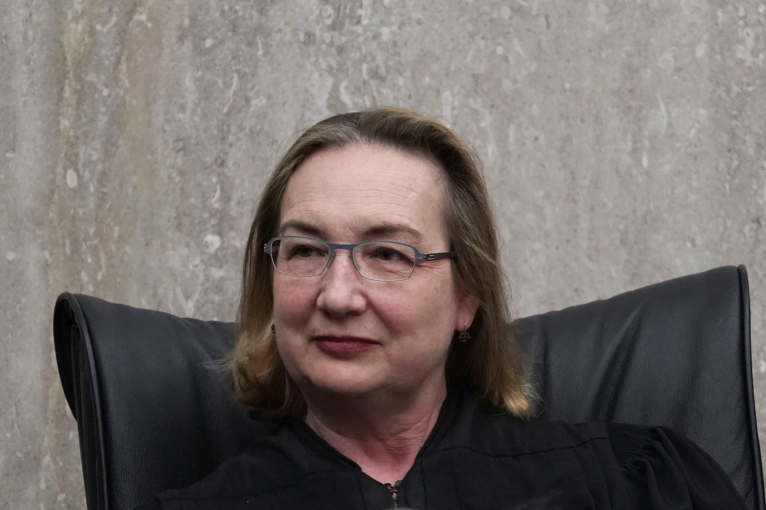 U.S. District Judge for the District of Columbia Beryl Howell listens during the investiture ceremony for for another judge in 2018. (Alex Wong/Getty Images)