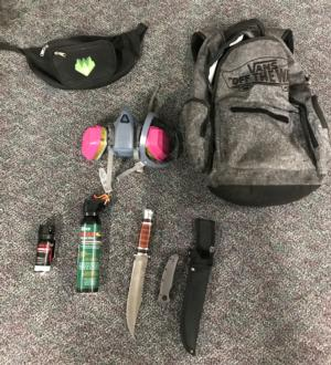 Weapons found/PPB Blog