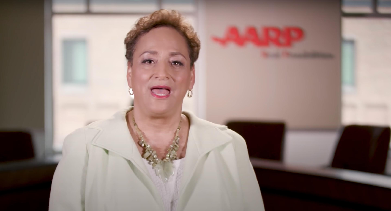 AARP CEO Jo Ann Jenkins speaks about health care in a 2017 video. (AARP Advocates/Video screenshot/YouTube)