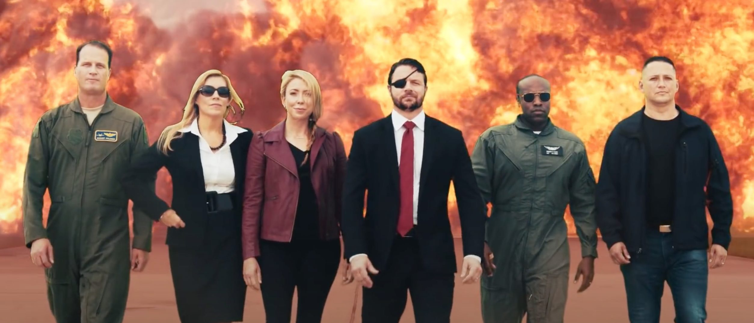 'Who Says Campaign Ads Have To Suck?' Dan Crenshaw Releases Joint Ad That Riffs 'The Avengers,' 'Mission: Impossible'