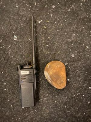 Rock used against Portland Police/PPB Blog