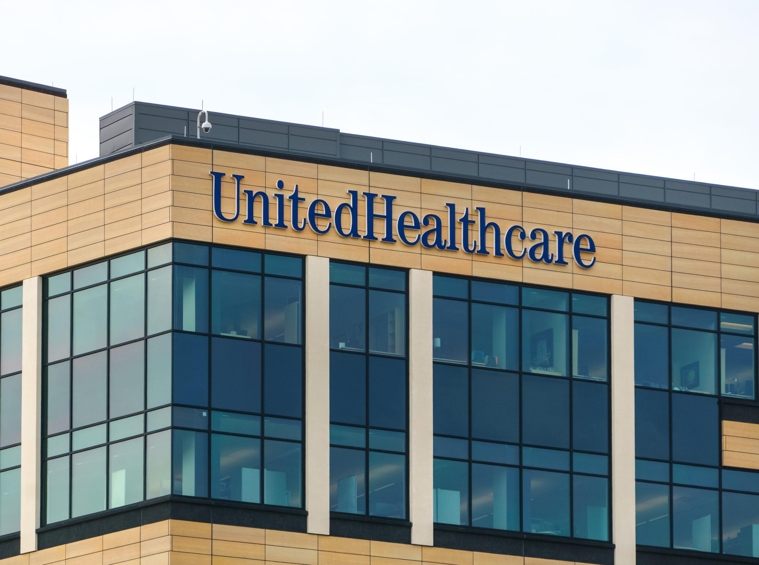 The UnitedHealth Group headquarters in Minnetonka, Minnesota. (Ken Wolter/Shutterstock)