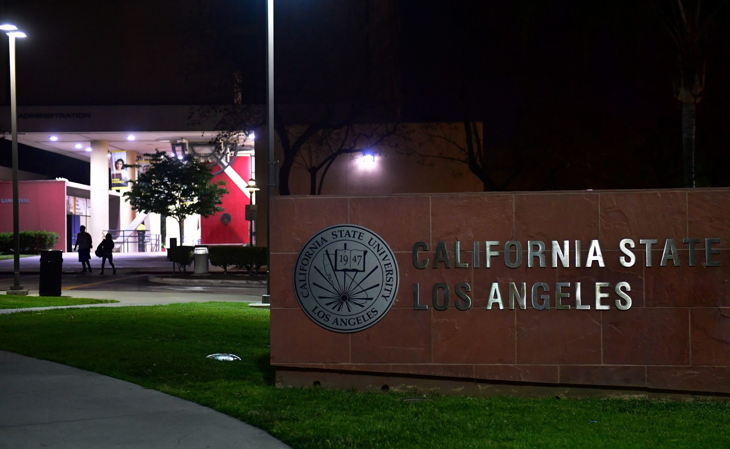 The California State Los Angeles university campus is pictured during a measles quarantine that was issued for staff and students on April 25, 2019 in Los Angeles, California. - Dozens of people at two California universities have been quarantined as US health officials battle to stop the spread of a nationwide measles outbreak, authorities said April 25. The Department of Public Health said hundreds of students and staff at the University of California Los Angeles (UCLA) and California State University (Cal State) had been exposed to a measles carrier earlier this month. Those who couldn't prove they had been inoculated had been quarantined, it said. (Photo by Frederic J. BROWN / AFP) (Photo credit should read FREDERIC J. BROWN/AFP via Getty Images)