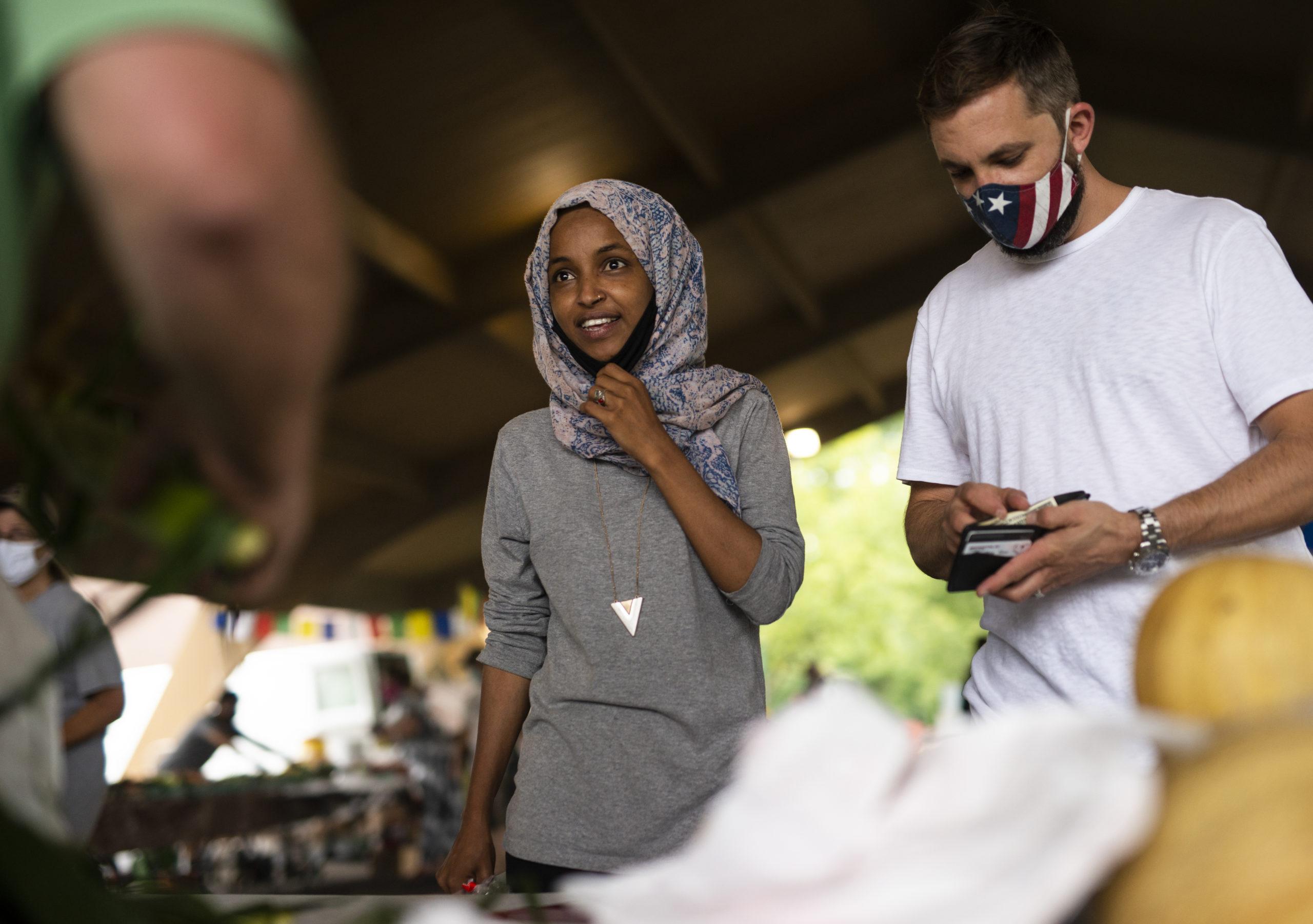 Democrat Ilhan Omar Paid Husband's Firm More Than $1 ... Ilhan Omar Minnesota