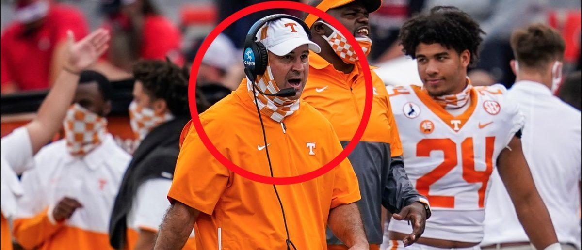 Tennessee Football Coach Jeremy Pruitt Wears Hilarious ...