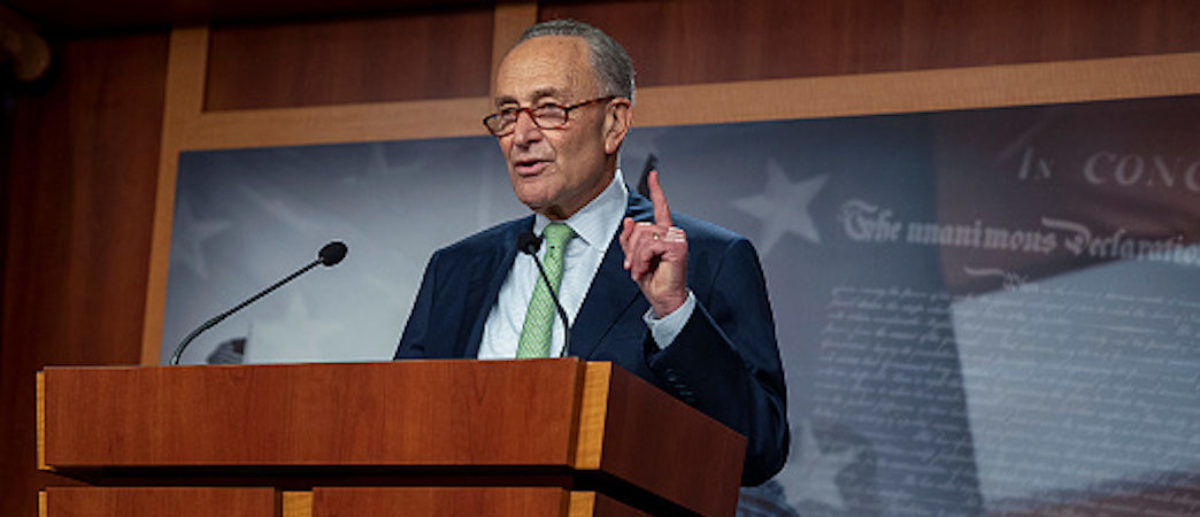 Schumer Says Democrats Will Try To Block Barrett Confirmation By Not Giving Republicans Quorum