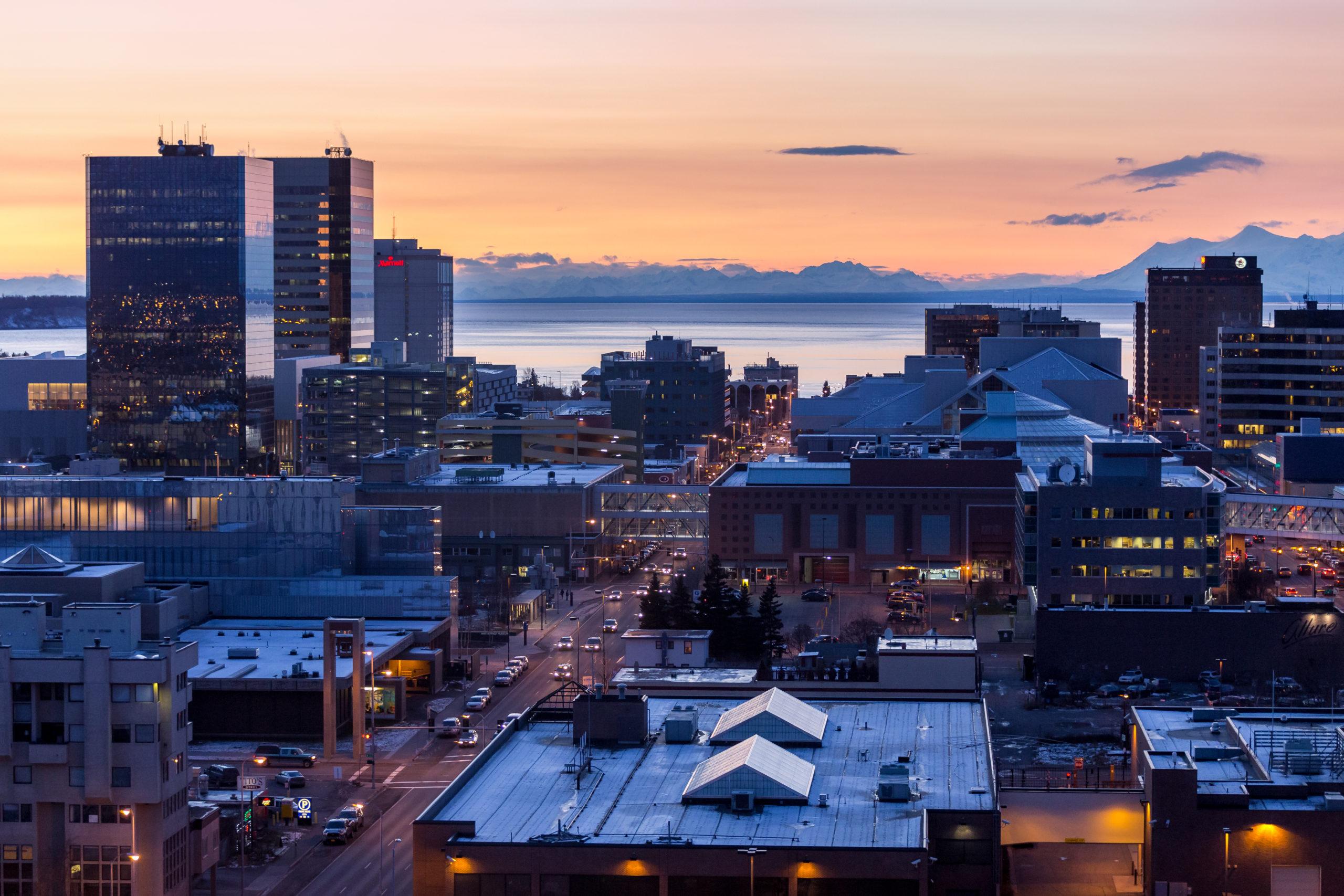 Anchorage, Alaska/Shutterstock via Marcus Biastock