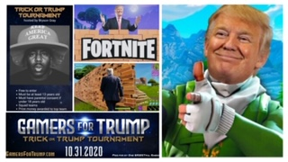 Gamers for Trump advertisement, courtesy of Stephanie Lien D'Urso.