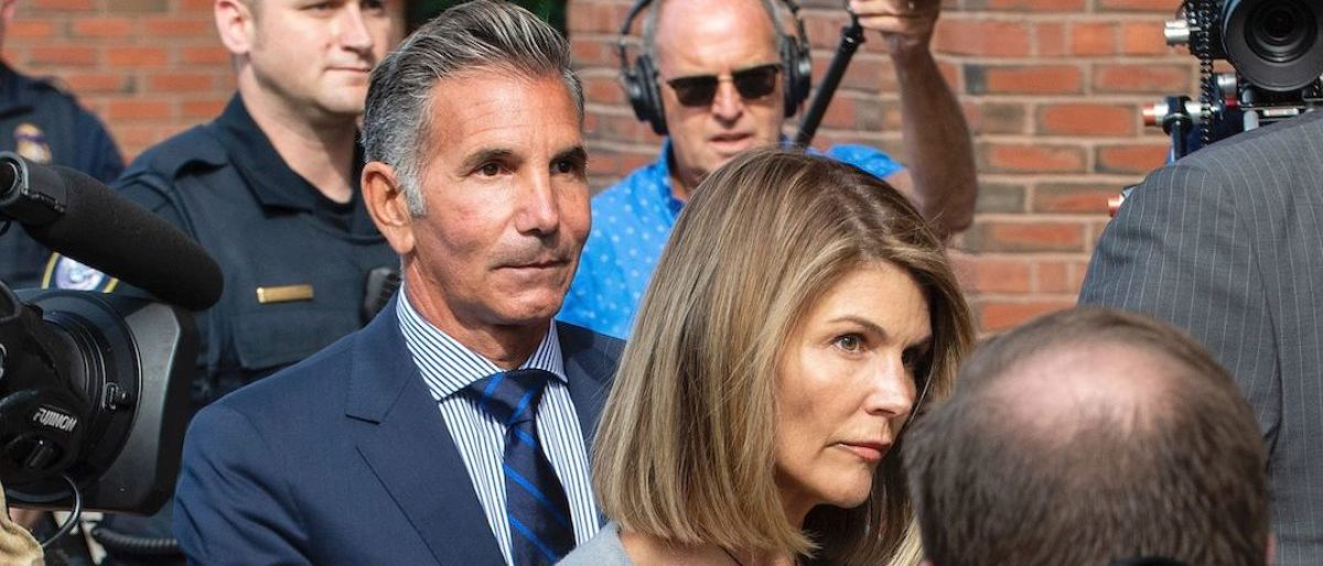 Lori Loughlin's Husband Mossimo Giannulli Looks Unrecognizable Days Before Reporting To Prison