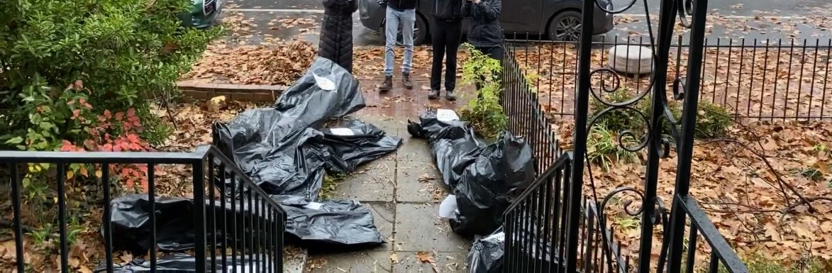 Body Bags:Susan Collins DC Home:Obtained by Daily Caller