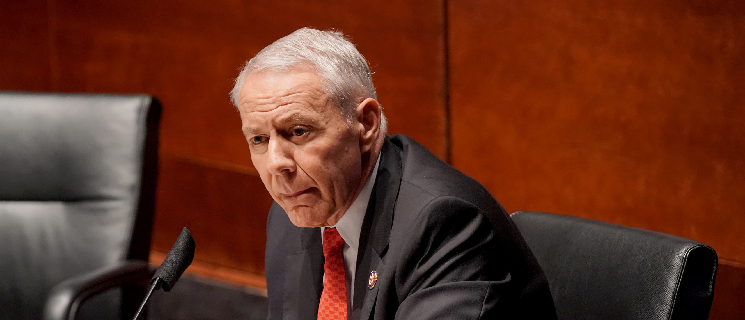 U.S. Rep. Ken Buck (R-CO) questions witnesses at a House Judiciary Committee hearing on police brutality and racial profiling on June 10, 2020 in Washington, DC. George Floyd died May 25 while in Minneapolis police custody, sparking worldwide protests. (Photo by Greg Nash-Pool/Getty Images)