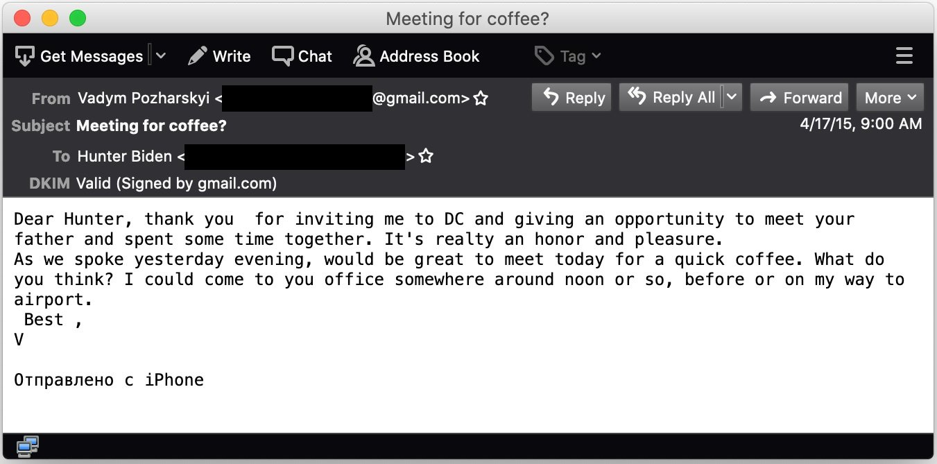 Cybersecurity expert Robert Graham said this email is unquestionably authentic after analyzing its DKIM signature. (Robert Graham)