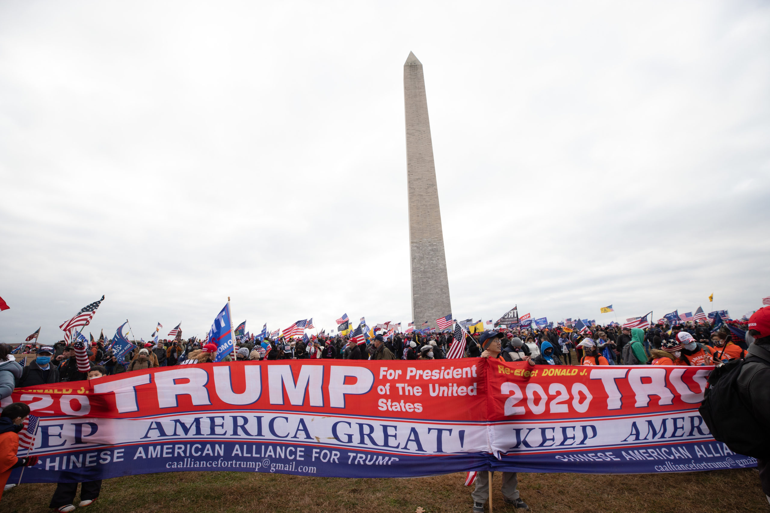 Thousands of supporters of President Donald Trump gathered to hear him speak in Washington, D.C. on Jan. 6, 2021. (Kaylee Greenlee – Daily Caller News Foundation)