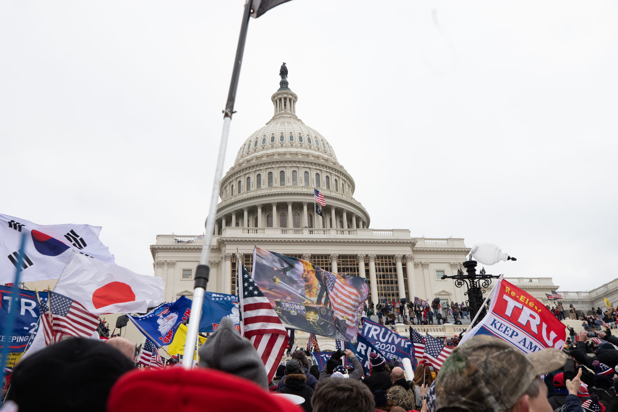 "Pro-President Donald Trump supporters gathered at the U.S. Capitol for a ""stop the steal"" protest in Washington, D.C. on Jan. 6, 2021. (Kaylee Greenlee – Daily Caller News Foundation)"