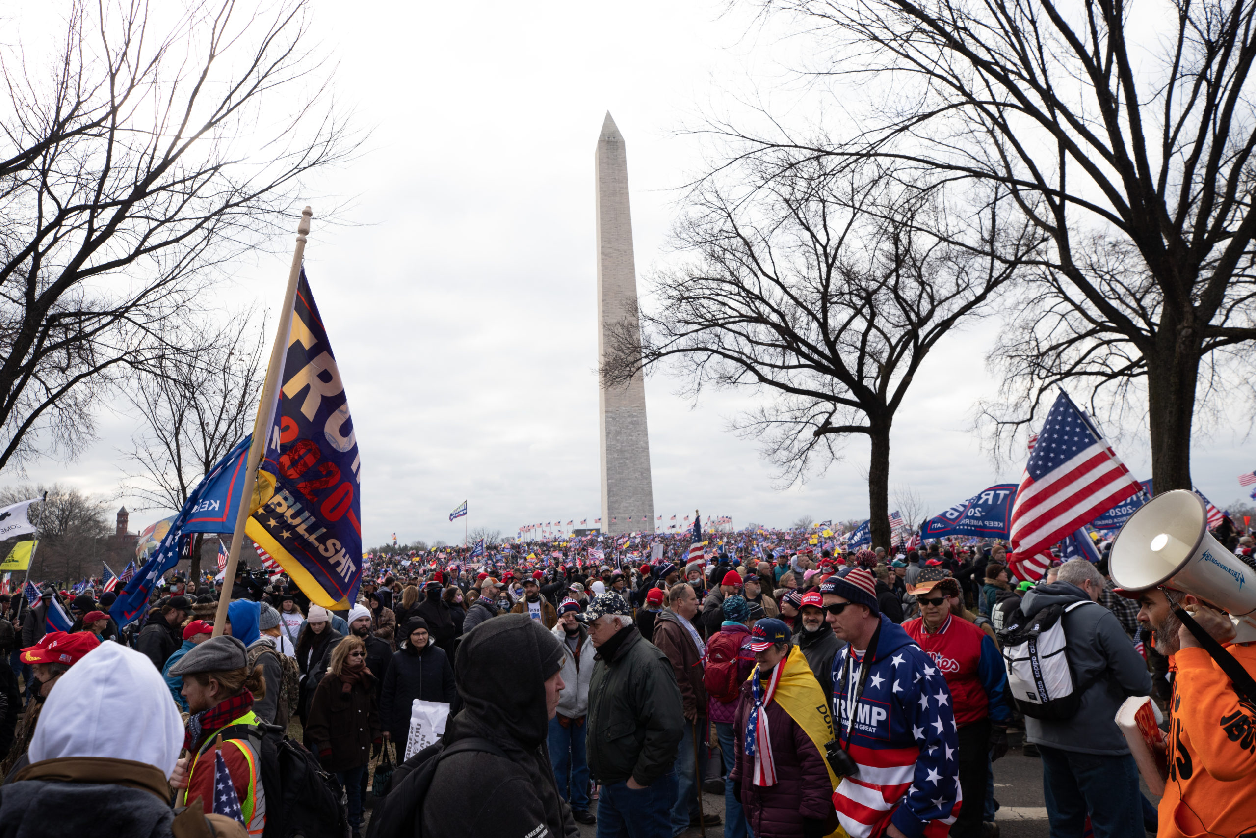 Thousands of supporters of President Donald Trump gathered to hear him speak in Washington, D.C. on Jan. 6, 2021. (Kaylee Greenlee - Daily Caller News Foundation)