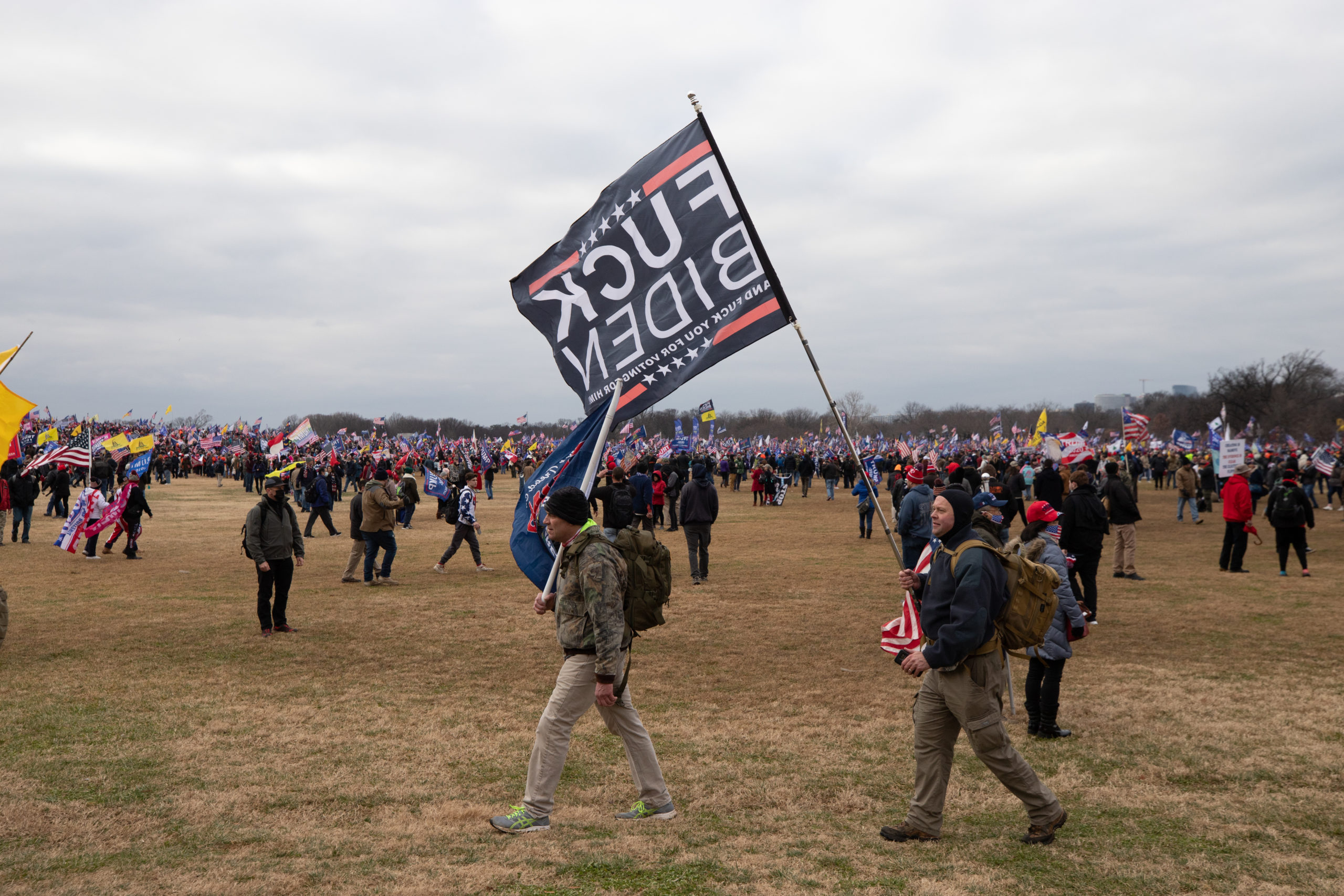 Pro-President Donald Trump supporters gathered at the National Mall for Trump's speech in Washington, D.C. on Jan. 6, 2021. (Kaylee Greenlee – Daily Caller News Foundation)