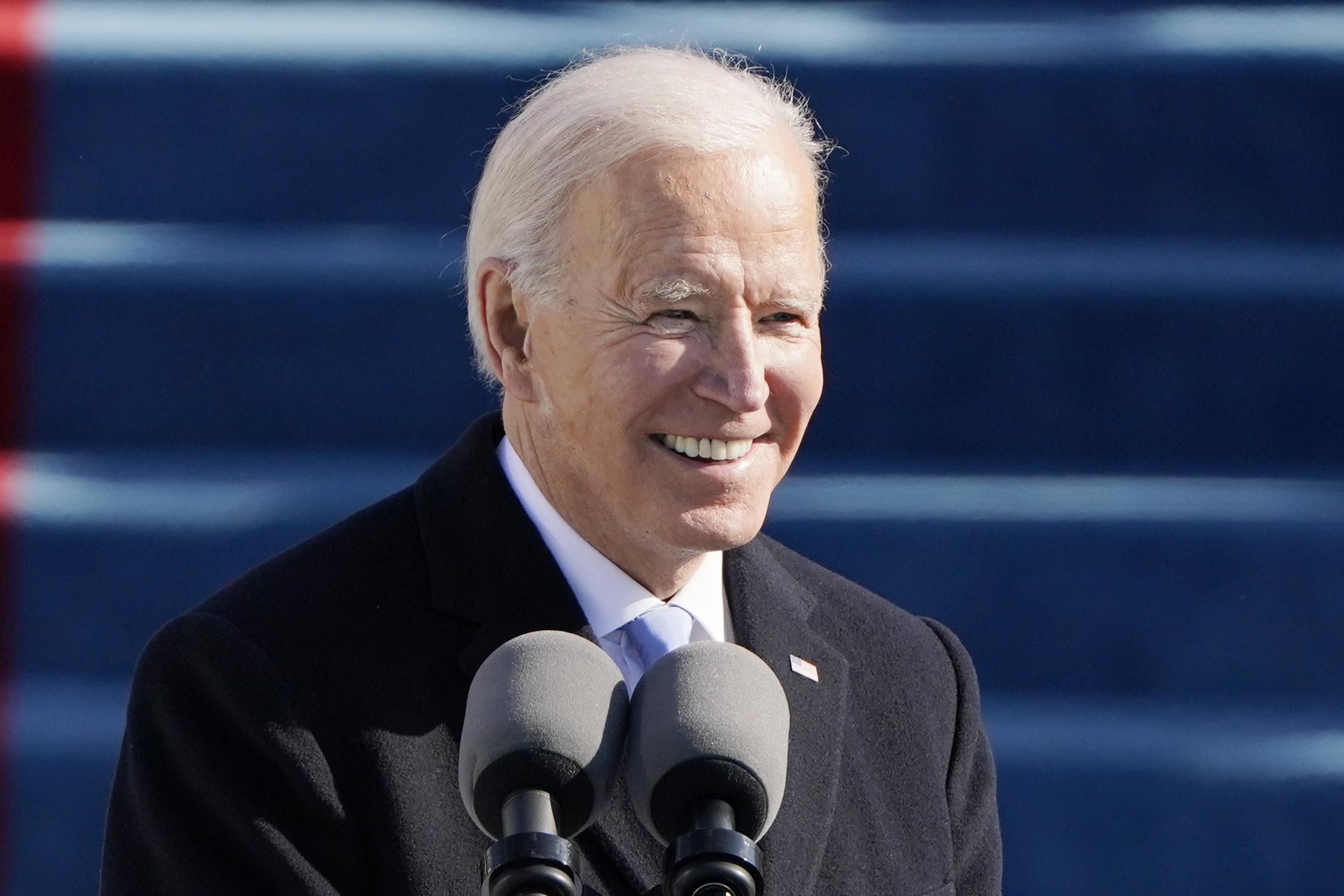 President Joe Biden on January 20, 2021 in Washington, DC. (Patrick Semansky-Pool/Getty Images)