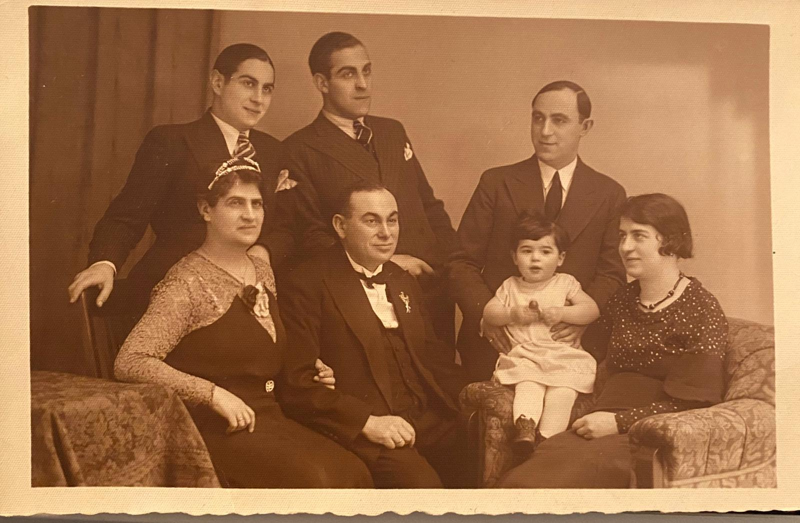 Helga Stern as an infant with her family (Photo Credit: Helga Stern)