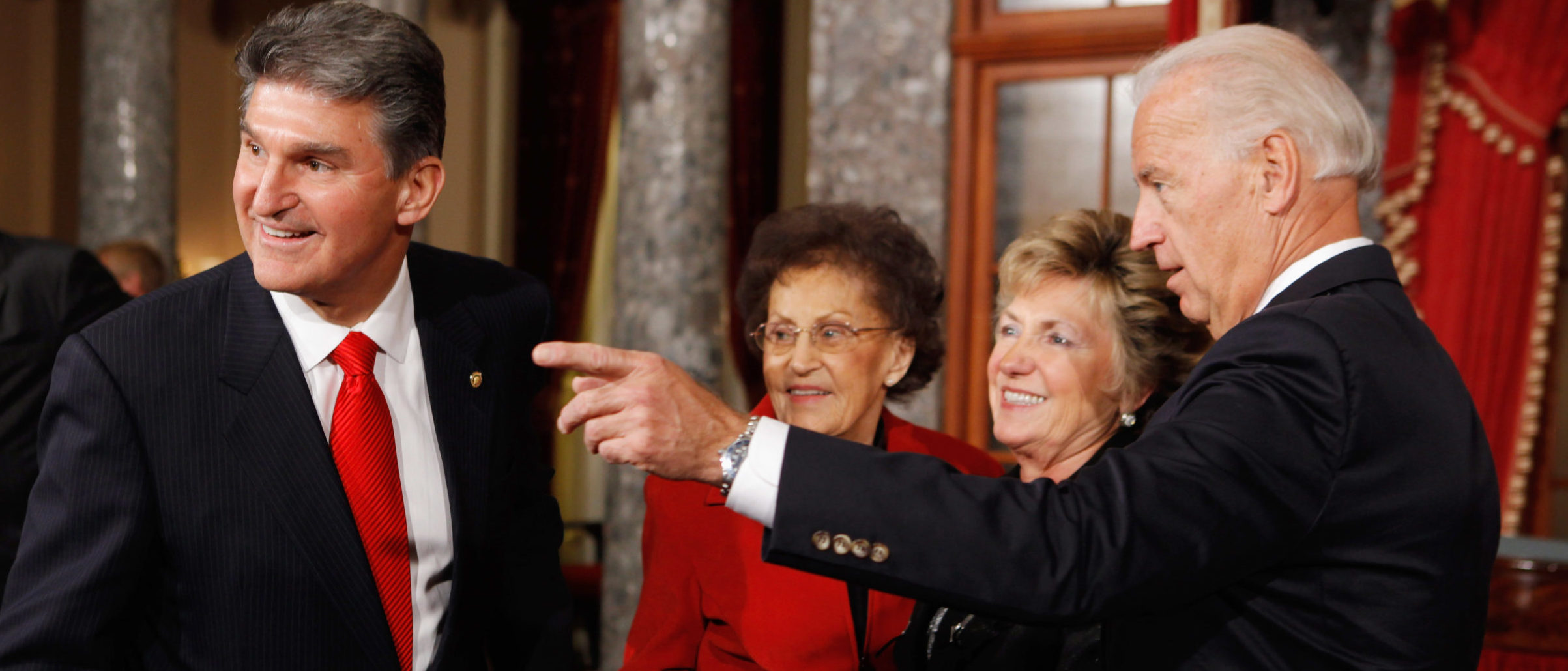 Biden Nominates Gayle Manchin, Joe Manchin's Wife, For 'Key' Co-Chair Of Federal Commission