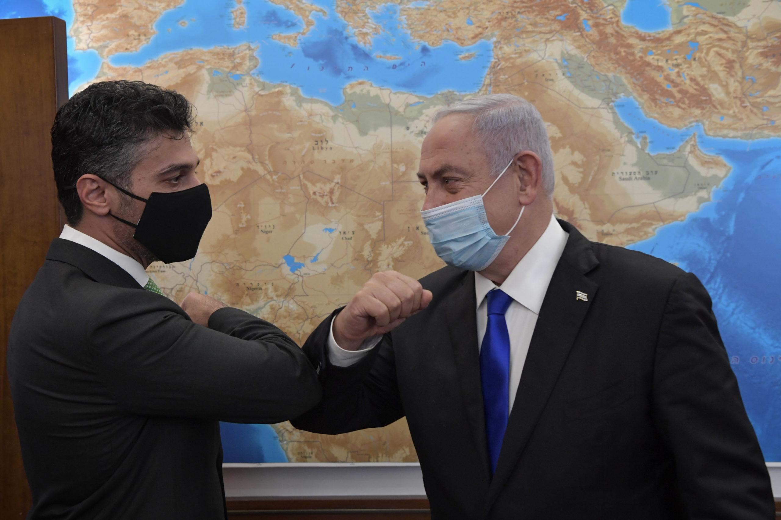 Israeli PM Meets United Arab Emirates' First Ambassador To Israel