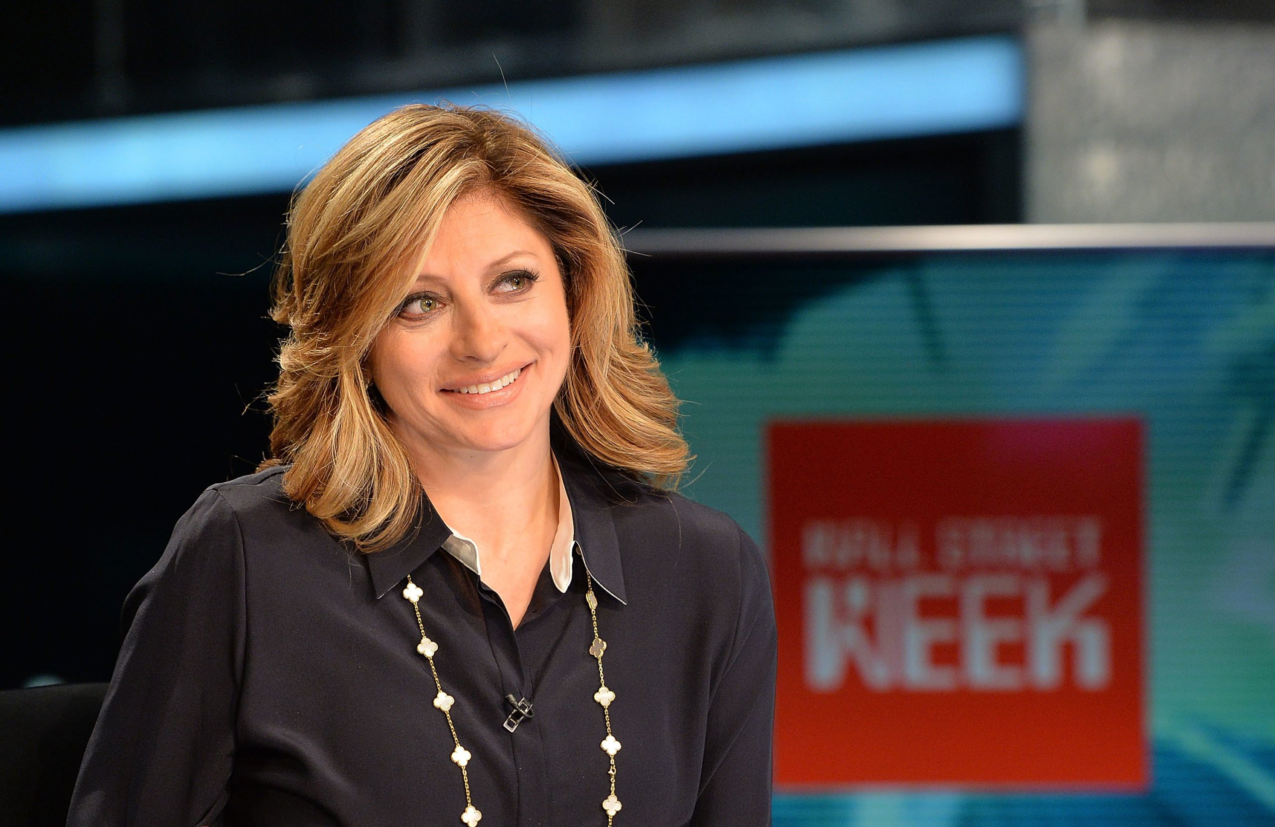 """Maria Bartiromo hosts FOX Business Network's """"Wall Street Week"""" at FOX Studios on April 27, 2016 in New York City. (Slaven Vlasic/Getty Images)"""