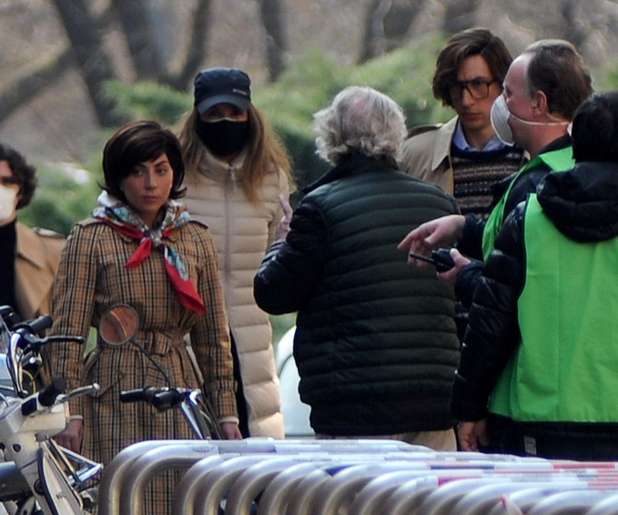 Pictured: Lady Gaga,Adam Driver Picture by: Mimmo Carriero/IPA / SplashNews.com