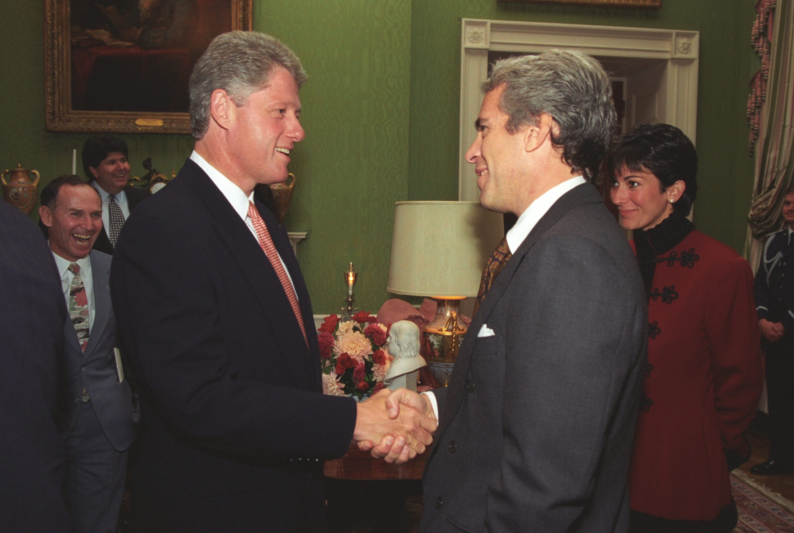 Photo courtesy of the William J. Clinton Presidential Library.