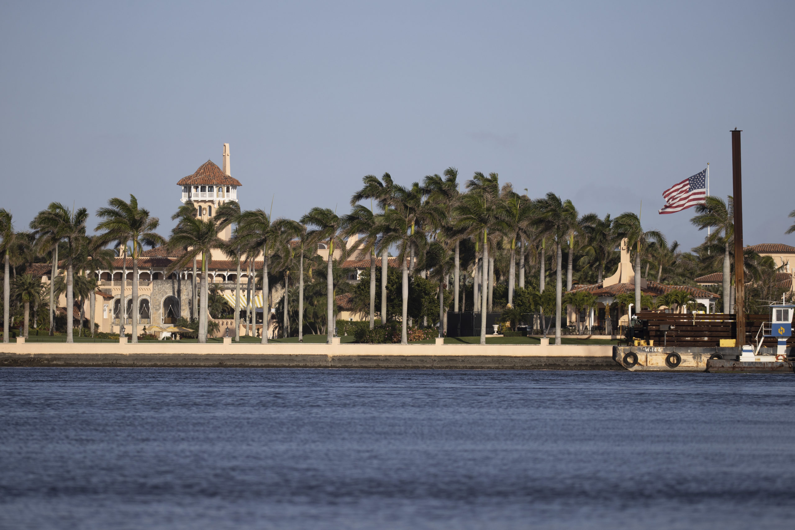 PALM BEACH, FLORIDA - FEBRUARY 13: Former President Donald Trump's Mar-a-Lago resort where he resides after leaving the White House on February 13, 2021 in Palm Beach, Florida. The Senate on Saturday acquitted Donald Trump of inciting the attack on the U.S. Capitol on January 6th in Washington, DC. (Photo by Joe Raedle/Getty Images)