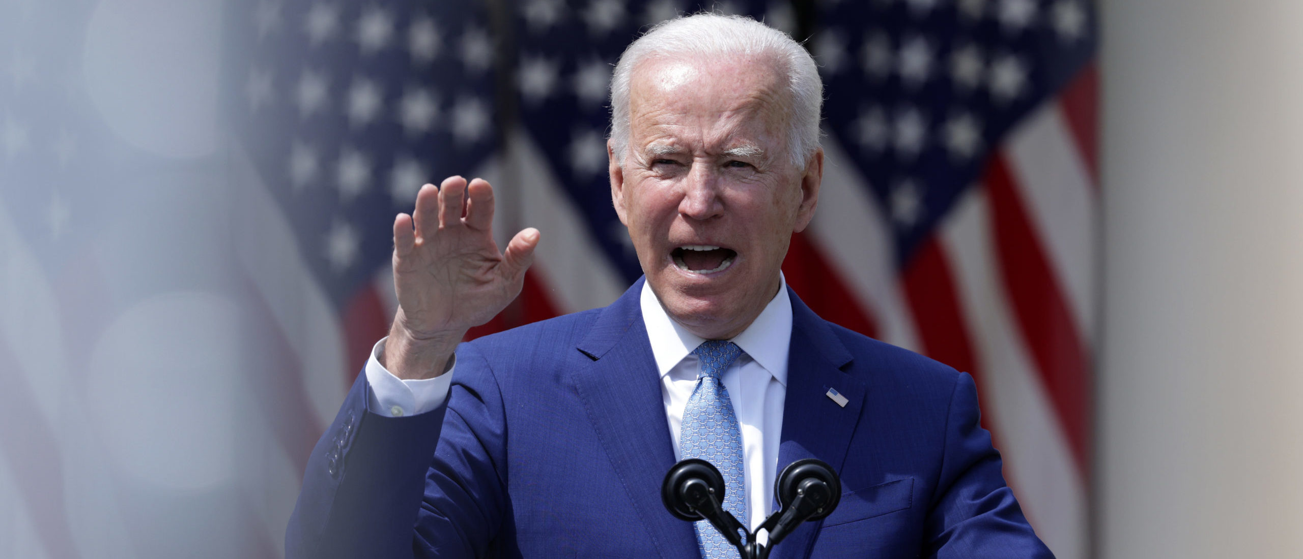 President Joe Biden speaks during an event on gun control in the Rose Garden at the White House Thursday. (Alex Wong/Getty Images)
