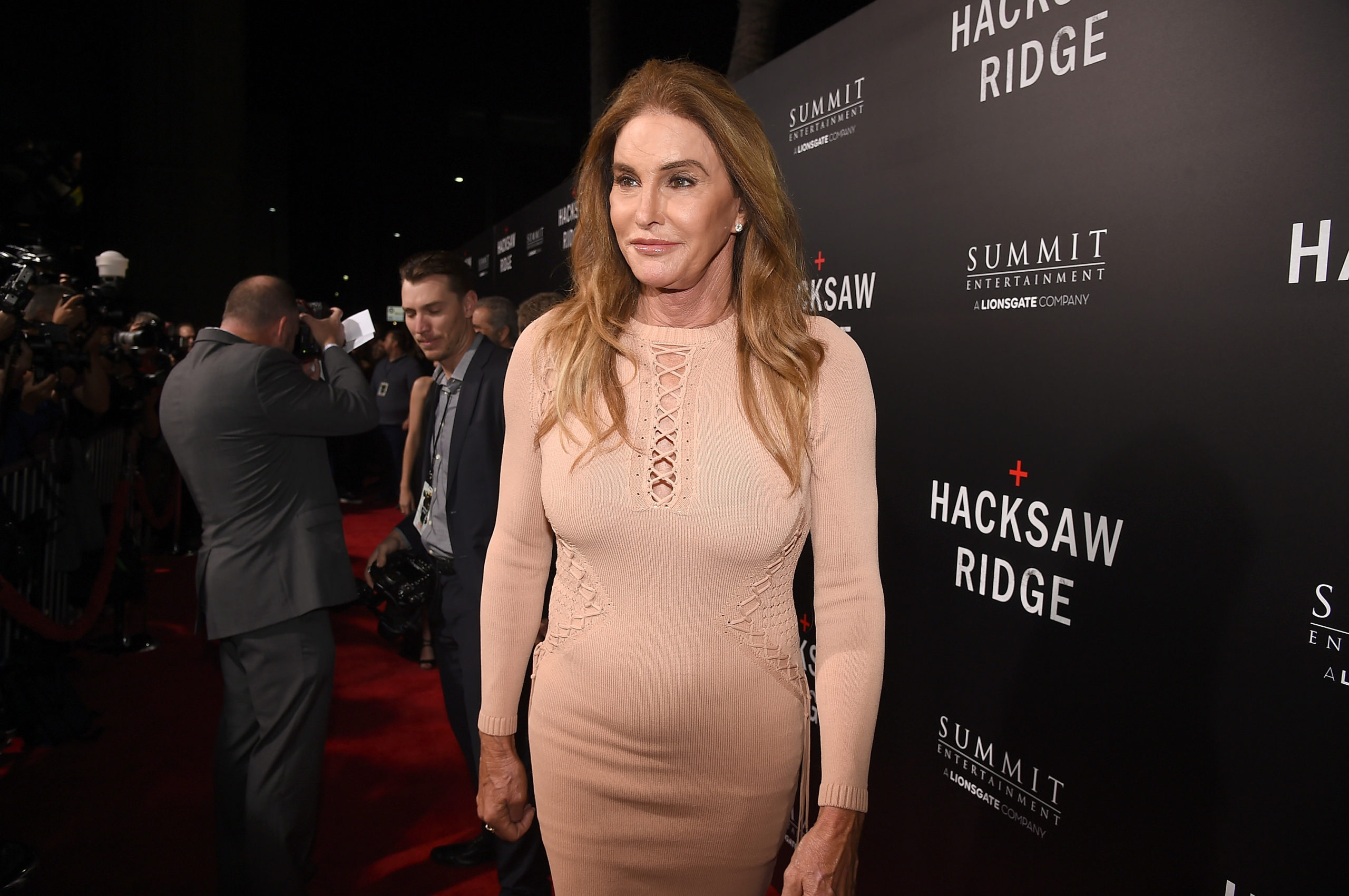 Caitlyn Jenner attends the screening of Summit Entertainment's
