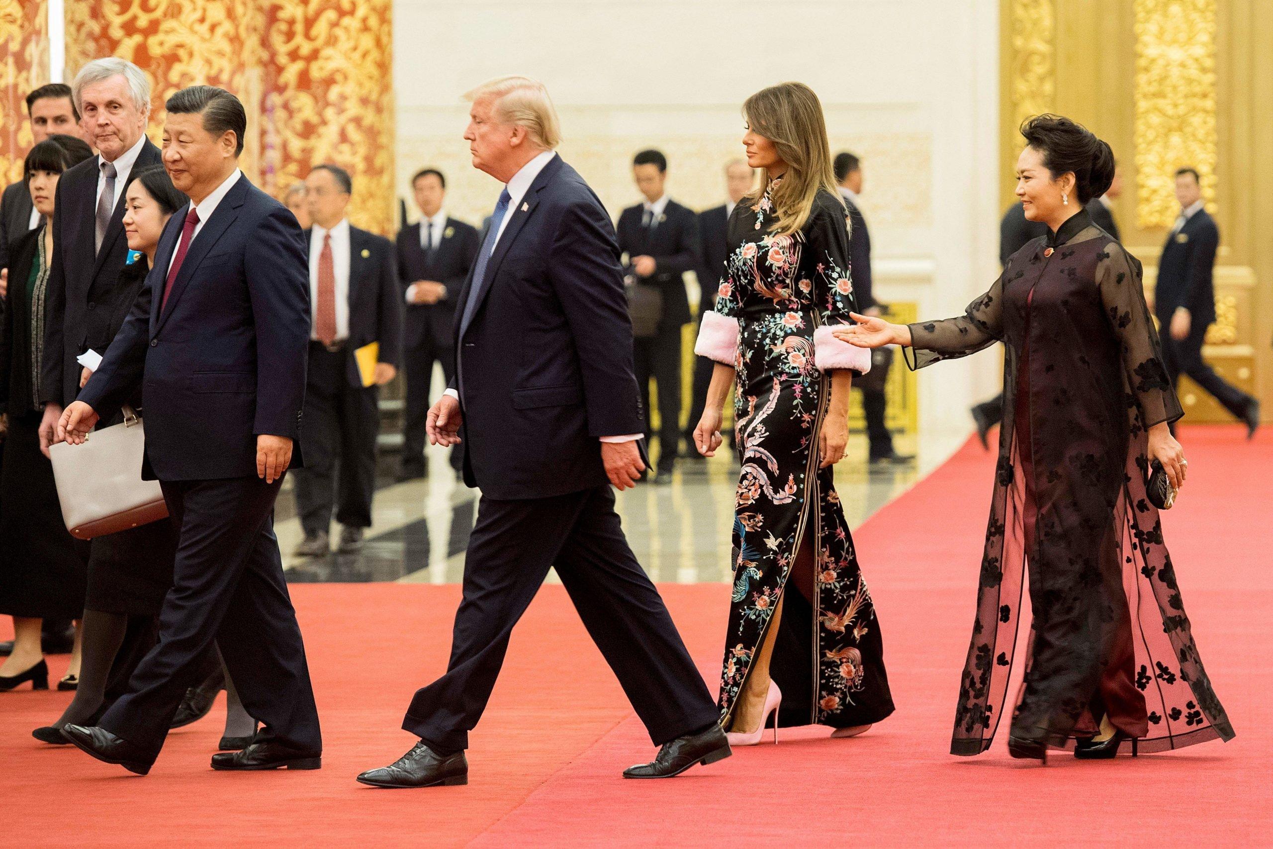 Melania Trump (Photo credit: JIM WATSON/AFP via Getty Images)